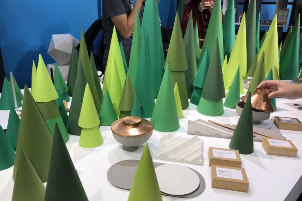 cones as trees