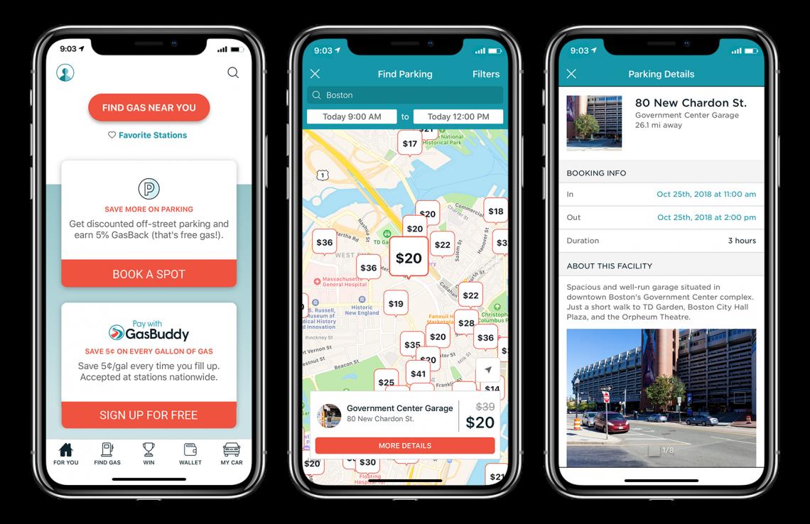 gasbuddy app screens