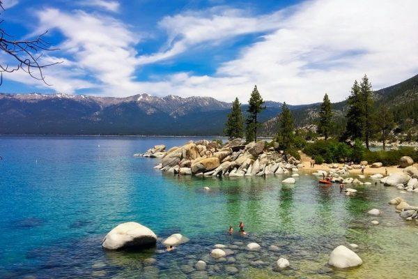 lake tahoe clear blue waters