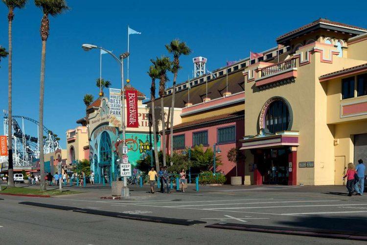 santa cruz beach boardwalk california